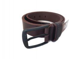 """Ремень кожаный коричневый """"Медведь"""" RMK-4045br_3"""