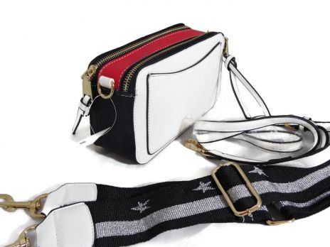 Сумка кроссбоди женская Marc Jacobs 6088 WHITE