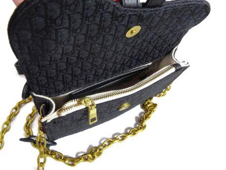 Сумка кроссбоди женская Dior 1899 BLACK