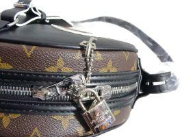 Сумочка кроссбоди женская Louis Vuitton 52891 BLACK_2