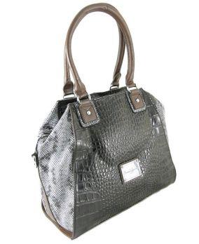 Женская кожаная сумка Armand Lancome 01-9200 Black