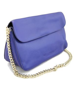 Сумка женская кожаная CELINE L-1697 989 A Deep Brilliant Blue