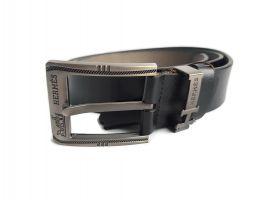 Ремень кожаный Hermes 2487 black_1