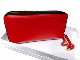 Кошелёк женский кожаный Marc Jacobs 1102 E Red_1