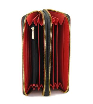 Кошелёк женский кожаный Marc Jacobs 1102 E Red