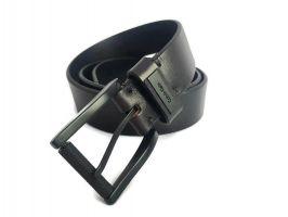 Ремень кожаный брендовый CK Jeans 2743 black_1