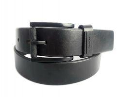 Ремень кожаный брендовый CK Jeans 2743 black_0