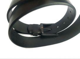 Ремень кожаный брендовый CK Jeans 2743 black_3