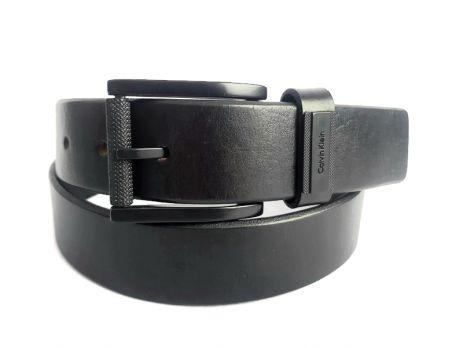 Ремень кожаный Calvin Klein Jeans 2743 black