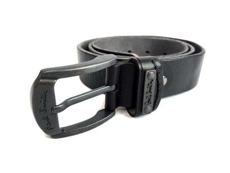 Ремень кожаный Paul Smith 2328 black
