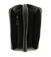 Кожаный клатч-кошелёк Philipp Plein 251 A Black_1