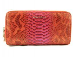 Женский кожаный клатч-кошелёк на молнии Coccinelle 8263 E_0