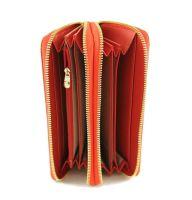 Женский кожаный клатч-кошелёк на молнии Coccinelle 8263 E_1