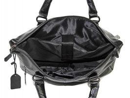 Мужская кожаная деловая сумка NN 147-5-168 Black_4