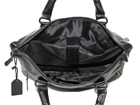 Мужская кожаная деловая сумка NN 147-5-168 Black