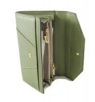 Кошелёк женский кожаный JCCS 3130A Green_1