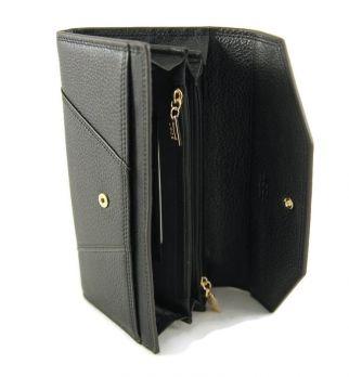 Кошелёк женский кожаный JCCS 3130A Black