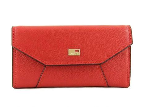 Кошелёк женский кожаный JCCS 3130A Red