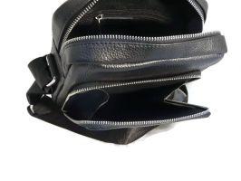 Мужская кожаная сумка Prada black_2