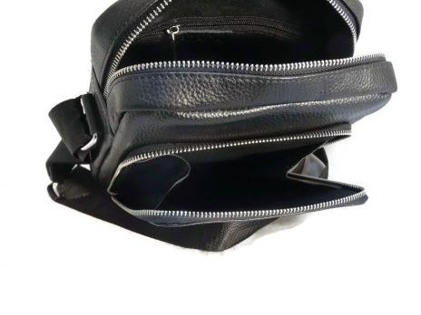 Мужская кожаная сумка Prada black