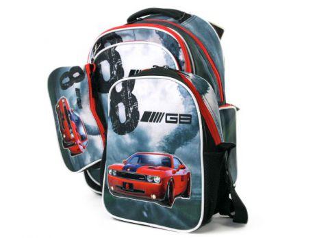 Рюкзак школьный для мальчиков (комплект)