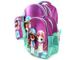 Рюкзак школьный для девочек (комплект)_1