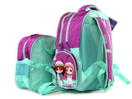 Рюкзак школьный для девочек (комплект)