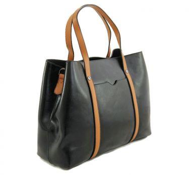 Женская сумка шоппер NN 9869-M Чёрная