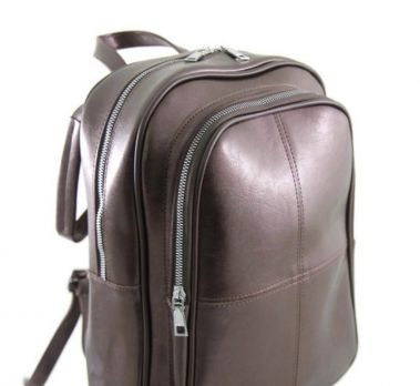 Рюкзак из эко-кожи NN 035 brown