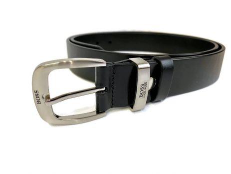 Ремень кожаный Boss black 1288