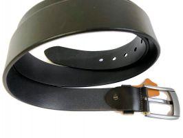 Ремень кожаный POLO black 1289_3
