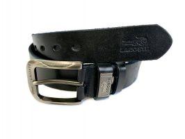 Ремень кожаный Lacoste blue 1290_2
