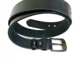 Ремень кожаный Lacoste blue 1290_3