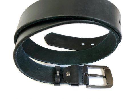 Ремень кожаный Lacoste blue 1290