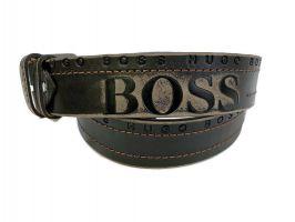 Кожаный ремень Boss 1292_2