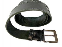 Кожаный ремень Wrangler black 1294_3