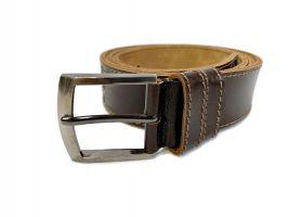 Кожаный ремень Boss brown 1300_2