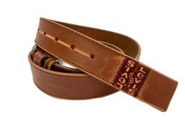 Кожаный ремень Levis brown 1303_1