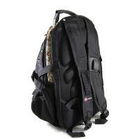 Рюкзак SwissGear 9385 Чёрно-бежевый_1