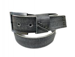 Ремень кожаный с урезанным кончиком_0