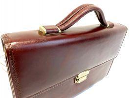 Портфель кожаный Rock Feld RH-05-020509 Brown_2