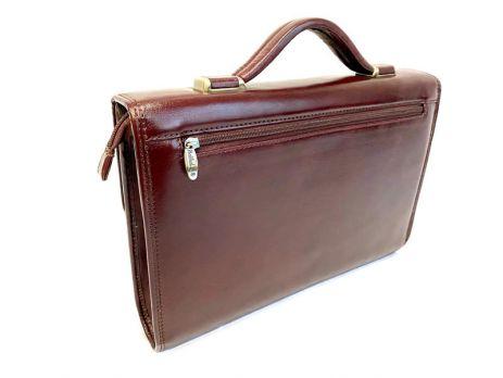 Портфель кожаный Rock Feld RH-05-020509 Brown