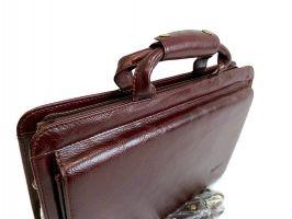 Портфель кожаный Rock Feld 05-15310 Brown_3