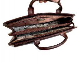 Портфель кожаный Rock Feld 05-15310 Brown_6
