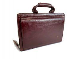 Портфель кожаный Rock Feld 05-15310 Brown_1