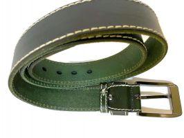 Ремень кожаный Gucci green 1341_2