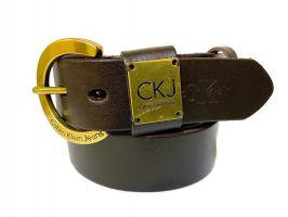 Кожаный ремень Calvin K jeans Brown 1346_1