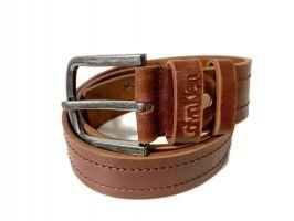 Ремень кожаный Calvin K jeans brown 1352_1