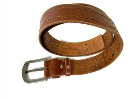 Ремень кожаный Calvin K jeans brown 1352_3