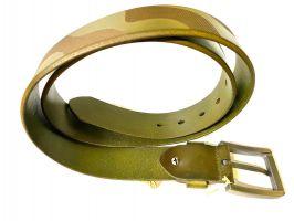 Ремень кожаный NHZ-252 green_2